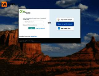 icumarketing.worketc.com screenshot