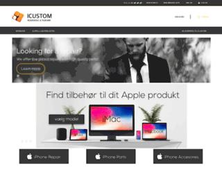 icustom.dk screenshot