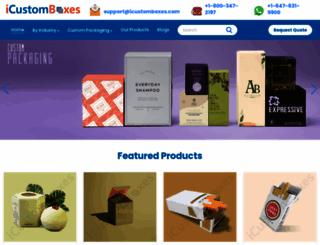 icustomboxes.com screenshot