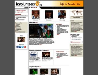 icvolontaires.org screenshot