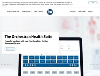 icw-global.com screenshot