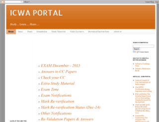 icwaportal.net screenshot