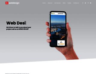icwebdesign.co.uk screenshot
