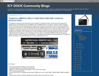 icydock.blogspot.com screenshot