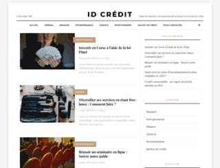 id-credit.org screenshot