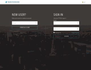 id-uat.tradingtechnologies.com screenshot