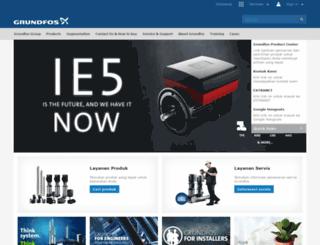 id.grundfos.com screenshot