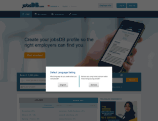 id.jobsdb.com screenshot