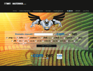 id.masterwebnet.com screenshot