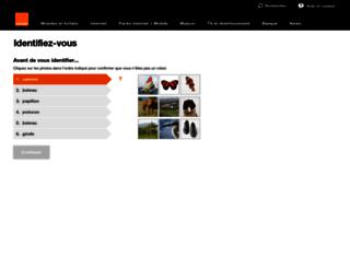id.orange.fr screenshot