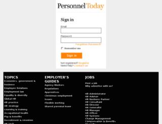 id.personneltoday.com screenshot