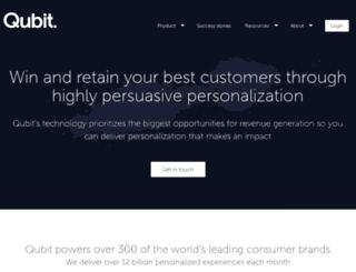 id.qubitproducts.com screenshot