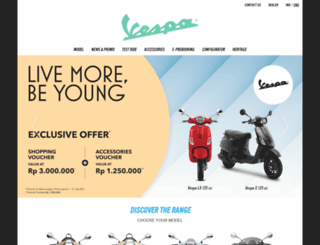 id.vespa.com screenshot