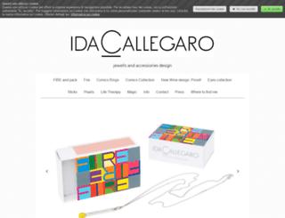 idacallegarofashionjewellery.com screenshot