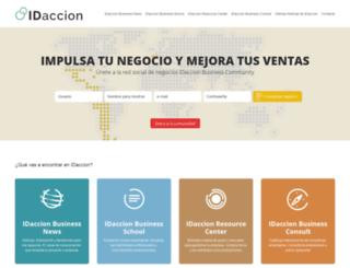 idaccion.com screenshot
