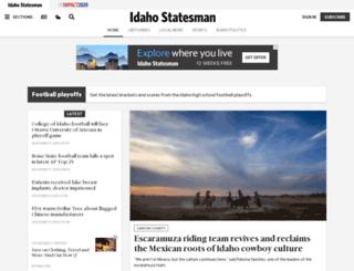 idahostatesman.com screenshot