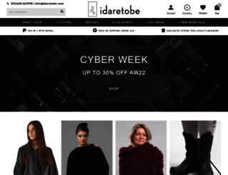 idaretobe.com screenshot
