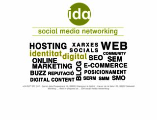 idasocialmedia.com screenshot