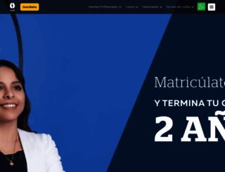 idat.edu.pe screenshot