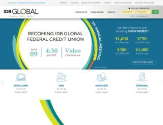 idbiicfcu.org screenshot
