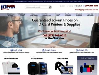 idcardgroup.com screenshot