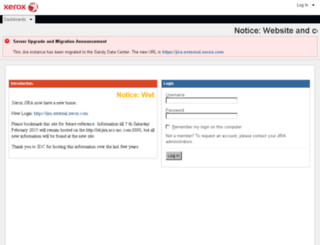 idcjira.acs-inc.com screenshot