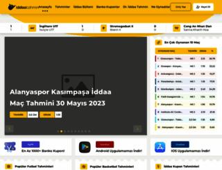 iddaa-tahmin.com screenshot