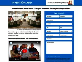 idea.inventionland.com screenshot