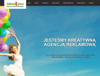 idea4you.com.pl screenshot