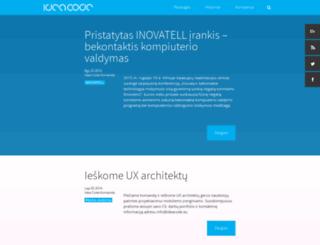 ideacode.lt screenshot