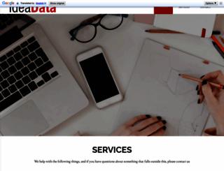 ideadata.dk screenshot