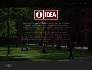 ideaedu.org screenshot