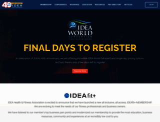 ideafit.com screenshot