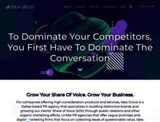 ideagrove.com screenshot