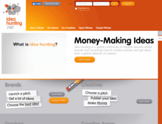 ideahunting.net screenshot