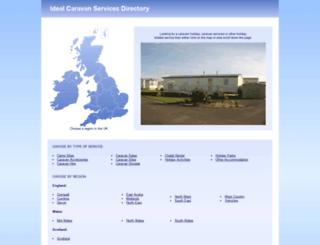 ideal-caravan-holidays.co.uk screenshot
