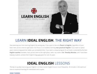 ideal-english.com screenshot