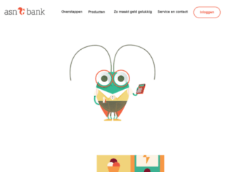 ideal.asnbank.nl screenshot
