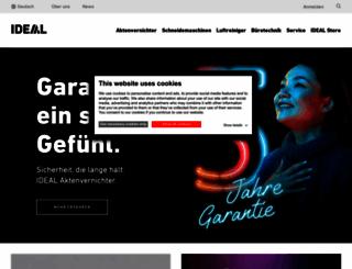 ideal.de screenshot