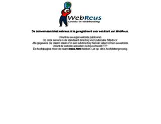 ideal.webreus.nl screenshot