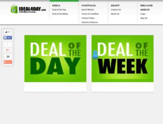 ideal4day.com screenshot