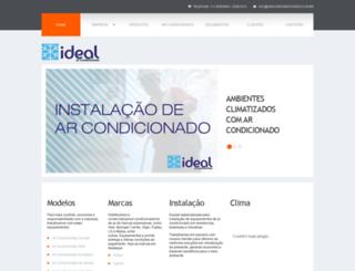idealarcondicionado.com.br screenshot