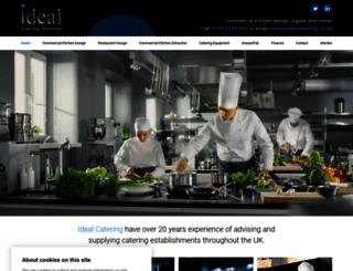 idealcatering.co.uk screenshot