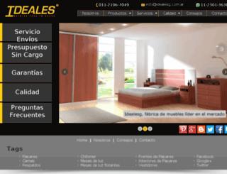 idealesg.com.ar screenshot