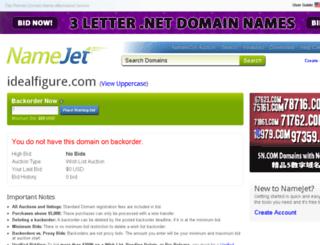 idealfigure.com screenshot