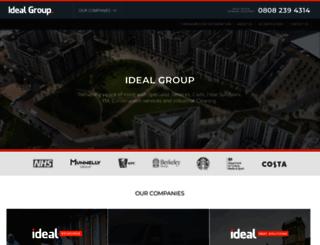 idealgroupuk.co.uk screenshot
