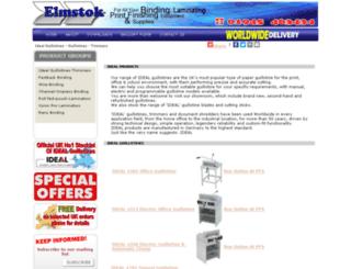 idealguillotines.elmstok.co.uk screenshot