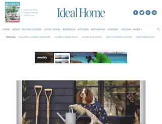 idealhomemagazine.co.uk screenshot