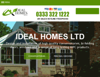 idealhomesltd.co.uk screenshot
