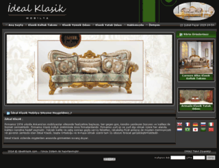 idealklasik.com screenshot